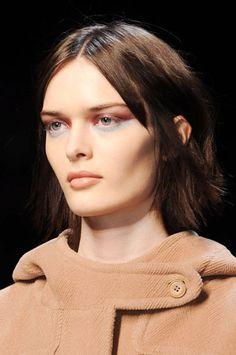 """PRUNE EYES"" @Kelly Teske Goldsworthy McGinn Fall 2013 Makeup Trends - The Best Makeup Looks From Fall 2013 Fashion Week"