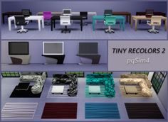PQSims4: Tiny Recolors 2 • Sims 4 Downloads