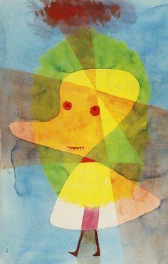 Paul Klee - Kleiner Gartengeist