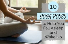 5 Yoga Poses to Do Before Bed and 5 to Wake You Up   SparkPeople