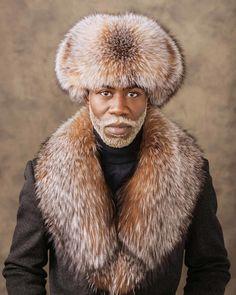 Look Book — WELTHĒ Lifestyle Mens Shearling Jacket, Mens Fur, Trooper Hat, Grey Suit Men, Winter Outfits Men, Classy Men, Well Dressed Men, Hats For Men, Custom Clothes
