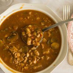 Najlepszy na świecie przepis na strogonowa Chana Masala, Feta, Healthy Recipes, Healthy Food, Grilling, Cooking, Ethnic Recipes, Dutch Oven, Stew