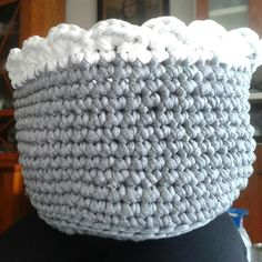 Guarda labores de trapillo-crochet