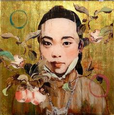 Master Painter and Printmaker, Hung Liu.  Her work is extraordinary!