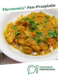 CHICKEN CURRY jest to przepis stworzony przez użytkownika martitapol. Ten przepis na Thermomix<sup>®</sup> znajdziesz w kategorii Dania główne z mięsa na www.przepisownia.pl, społeczności Thermomix<sup>®</sup>. Tofu, Poultry, Curry, Food And Drink, Meat, Chicken, Ethnic Recipes, Kitchen, Gastronomia