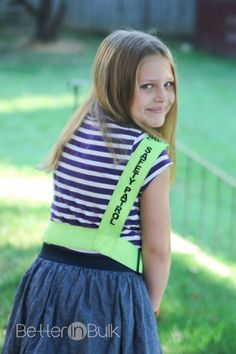 10 Ways to Be a Good Safety Patrol #ReeseWrites #school #kidblogger - Better in Bulk