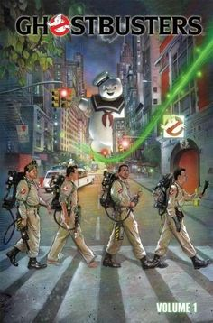 The Beatles, Abbey Road: Ghostbusters by Nick Runge Abbey Road, 80s Movies, Horror Movies, Good Movies, Comic Movies, Comic Book, Pixar, The Real Ghostbusters, Ghostbusters Poster