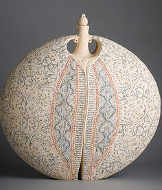 Amazing ceramic vessels from artist Avital Sheffer.
