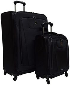 Carry-on Luggage Collections | Travelpro Maxlite 4 2 Piece set Expandable 29 Spinner and Expandable Carryon Spinner * Read more  at the image link. Note:It is Affiliate Link to Amazon. #comments4comments