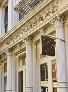 Today, we pay a visit to the experience-focused watches of switzerland boutique in soho, new york city to discover the wos recipe to a positively un Watch News, Eccentric, Soho, Boutiques, Switzerland, New York City, United Kingdom, This Is Us, Group
