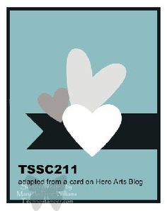 Techno Stamper: Monday Lunchtime Sketch Challenge 211! (TSSC211)