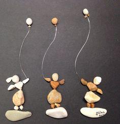 Pebble art (gülen)