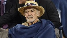 Sean Connery bij de US Open vorig jaar. Sean Connery, James Bond, Cowboy Hats