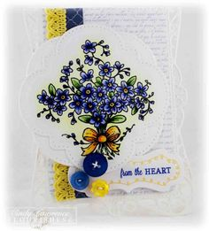 Flourishes Forget-Me-Not-Notes