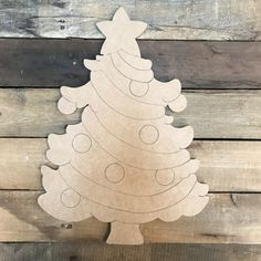 Christmas Tree, Unfinished Wood Cutout, Paint by Line - Modern Christmas Yard Art, Christmas Wood Crafts, Christmas Truck, Christmas Decorations, Christmas Signs, Unfinished Wood Crafts, Wooden Crafts, Diy Crafts, Wood Craft Patterns