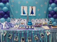 My 8th Frozen Birthday  | CatchMyParty.com