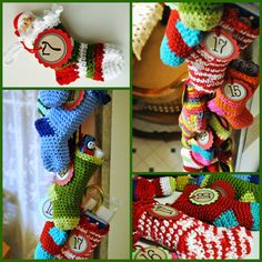 crochet stocking advent_2011 | Crochet pattern can be found … | Flickr - Photo Sharing!