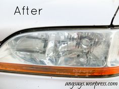 14 best headlight cleaning images headlight cleaning how to clean rh pinterest com