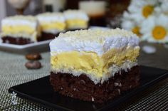Romanian Desserts, Romanian Food, Cloud Bread, Something Sweet, Diy Food, Cupcake Cakes, Cheesecake, Good Food, Dessert Recipes