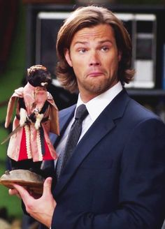 Supernatural - 9x5 That face! <--I loved this moment. Haha!