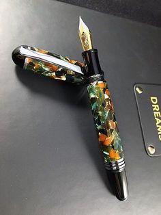 Custom Fountain Pen. Handmade Churchill Fountain Pen