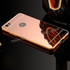 Huawei P8 Lite Aynalı Metal Kapak Kılıf Rose Gold -  - Price : TL27.90. Buy now at http://www.teleplus.com.tr/index.php/huawei-p8-lite-aynali-metal-kapak-kilif-rose-gold.html