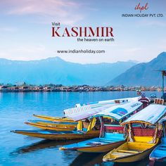 """If you think of Heaven on Earth, Kashmir comes to your thoughts. The beautiful """"Paradise on Earth"""" is definitely one of the places to must visit in a lifetime. Adventure, spiritual bliss, unique experiences, and so much more awaits."""