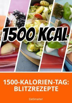 1500-Kalorien-Tag: Blitzrezepte   eatsmarter.de