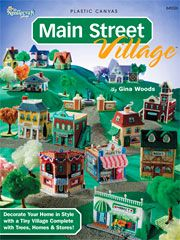 Main Street Village plastic canvas homes - Electronic Download