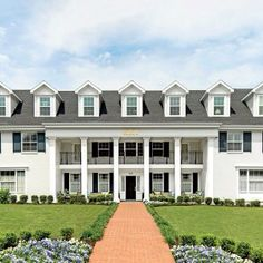 Gamma Nu Kappa House at Arkansas featured in Southern Living Magazine
