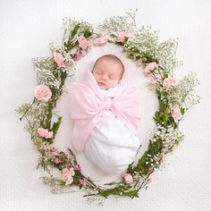 If babies were flowers, I'd pick you   Bow Swaddle   The Beaufort Bonnet Company