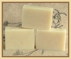 """I love this basic soap combo... coconut, palm and olive oils, Red Devil Lye and water.  Yummy!  This is not my recipe, but the oils used are the same.  It's easy and you get hooked on """"good"""" soap and it's tough to go back!"""