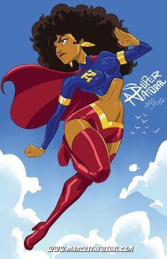 Hero: Super Natural | Illustrator: Marcus Williams