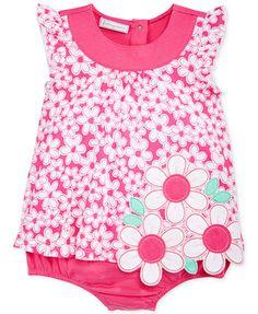 First Impressions Baby Girls' Daisy Sunsuit