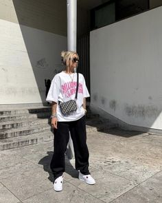 Cute Swag Outfits, Retro Outfits, Trendy Outfits, Moda Streetwear, Streetwear Fashion, Tomboy Fashion, Fashion Outfits, Mode Hipster, Looks Hip Hop