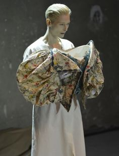Tilda Swinton Enlivens Fashion History - Page - Interview Magazine