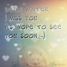 Winter...
