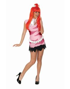 Adult Pebbles | ... TV and Movie Costumes / The Flintstones Pebbles Adult Women's Costume