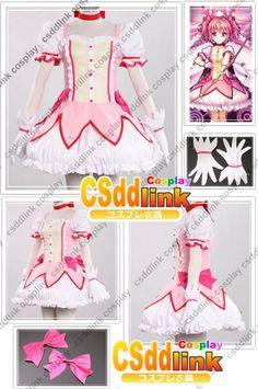 Puella Magi Madoka Magica Kaname Madoka cosplay by CSddlinkcosplay, $81.00 Looks so cute.   #cosplay #madoka #anime
