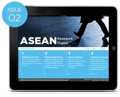 The ARD aims to build an accurate and accessible review of the some of the key research findings related to ASEAN integration. It is our vision that this publication will help our readers develop a better understanding of the issues within the wider regional business community, in anticipation of the formation of the ASEAN Economic Community (AEC) in 2015.