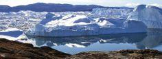 Fronte glaciale in Groenlandia