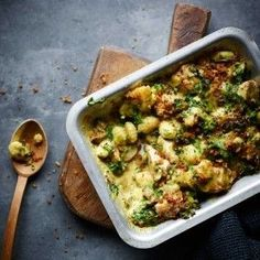 Joe Wicks, part two: Chicken & leek gnocchi bake - Inhaltsmarketing Pasta Recipes, Chicken Recipes, Dinner Recipes, Cooking Recipes, Healthy Recipes, Dinner Ideas, Lean Recipes, Dinner Options, Baked Gnocchi