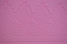Claire Bowman Cake Lace Mat  Peacock Design -- Click on the image for additional details.