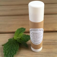 This all natural Peppermint lip balm will moisturize and leave your lips feeling smooth and soft. The .25oz tube is perfect for carrying in your pocket, purse, or travel on the go, and makes a wonderful gift for your favorite lip balm addict! SIMPLE INGREDIENTS: Beeswax, Shea