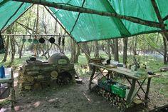 #Prepper - Off-grid woods kitchen