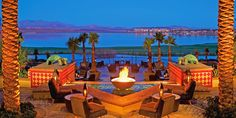 LOVE this place!  Loews Lake Las Vegas!  I am pretty sure that it is the most relaxing place on earth!