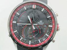 Casio Edifice SS /Rubber Electric Wave Solar Mens Watch EQW-A1300(BF061532). Was $287 now $277 global.elady.com