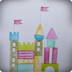 castle..stamped