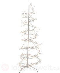 Funkelnder LED-Weihnachtsbaum f. außen