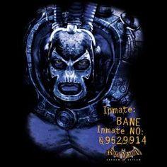 Batman Arkham Asylum Bane T-Shirt The Long Halloween, Batman Arkham Asylum, Bane, Dc Universe, Video Game, Joker, Superhero, Shirts, Fictional Characters